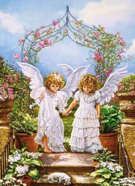 Angel Paint by Numbers Kits UK PO0179