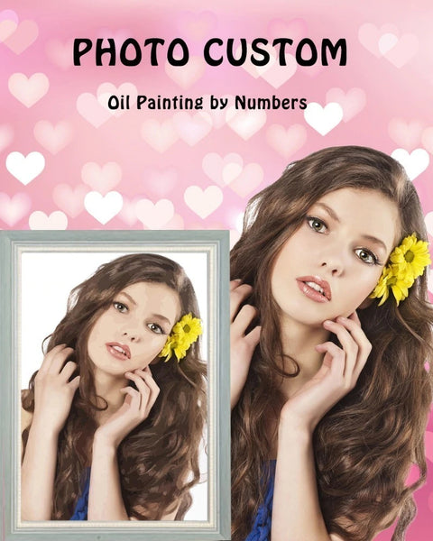 Personality Photo Customized DIY Paint By Numbers Kits, CDP0001