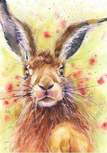 Animal Rabbit Diy Paint By Numbers Kits UK AN0857