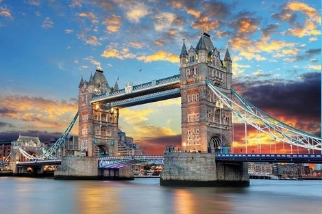 London Bridge Landscape Diy Paint By Numbers Kits LS326