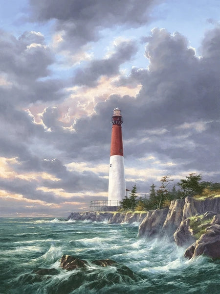 Lighthouse Diy Paint By Numbers Kits UK BU0038