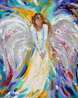 Fantasy Angel Paint By Numbers Kits Diy For Kids  UK MA134