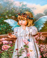 Angel Diy Paint By Numbers Kits UK PO0188
