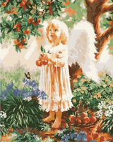 Angel Diy Paint By Numbers Kits UK PO0192