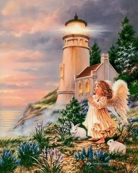 Angel Diy Paint By Numbers Kits UK PO0190