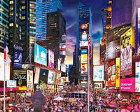 Times Square City Paint By Numbers Kits UK LS023
