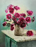 Flower Rose Paint By Numbers Kits UK PP0058