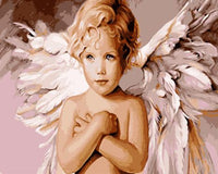 Angel Diy Paint By Numbers Kits UK PO0181