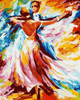 Dancer Diy Paint By Numbers Kits UK PO0389