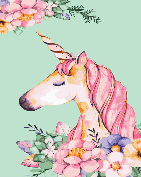 Dream Unicorn Paint By Numbers Kits FK184