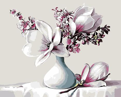 Orchid Diy Paint By Numbers Kits UK PP0019