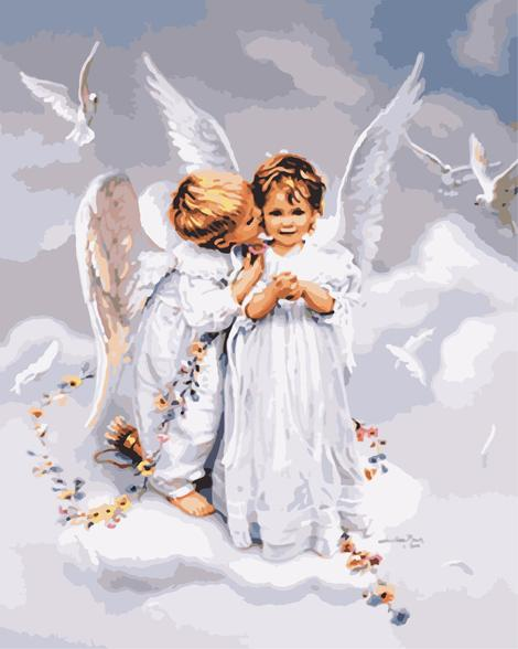 Angel Diy Paint By Numbers Kits UK PO0206