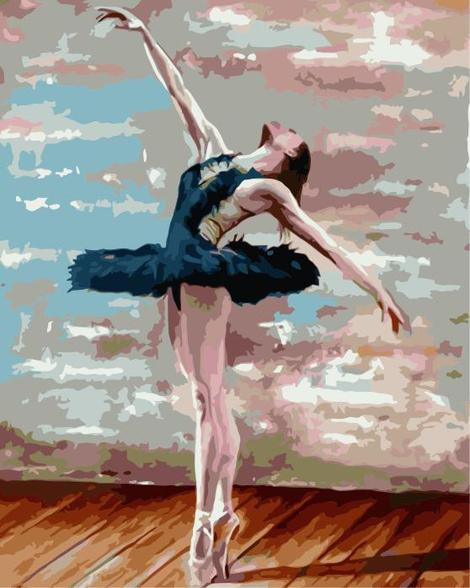 Dancer Diy Paint By Numbers Kits UK PO0072