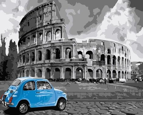 Colosseum Diy Paint By Numbers Kits LS358