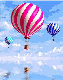 Hot Air Balloon Diy Paint By Numbers Kits UK PP0167