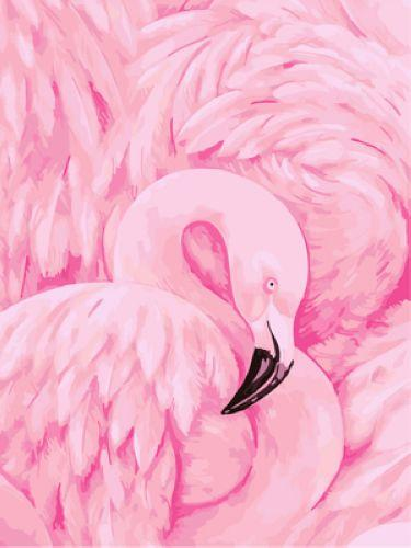Flying Animal Flamingo Diy Paint By Numbers Kits UK AN0197