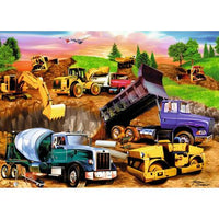 Truck Diy Paint By Numbers Kits UK VE0028