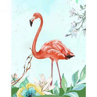 Flamingos Diy Paint By Numbers Kits UK AN0193