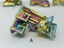 Load image into Gallery viewer, Bismuth Crystal Rainbow Geometric Metal Formation