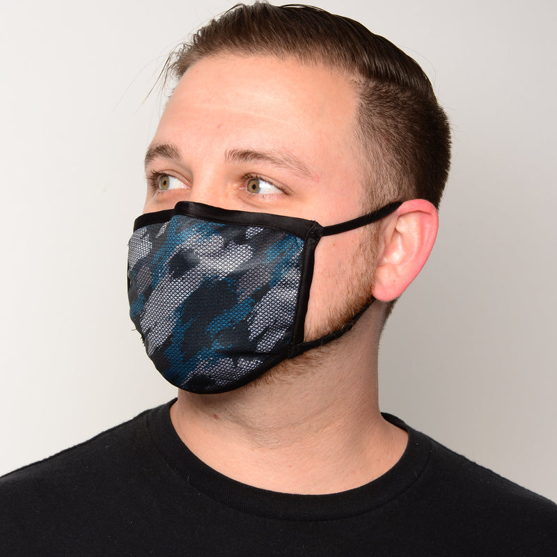 Artists' Collection of Fitted 3-Layer Antimicrobial Filtered Face Masks
