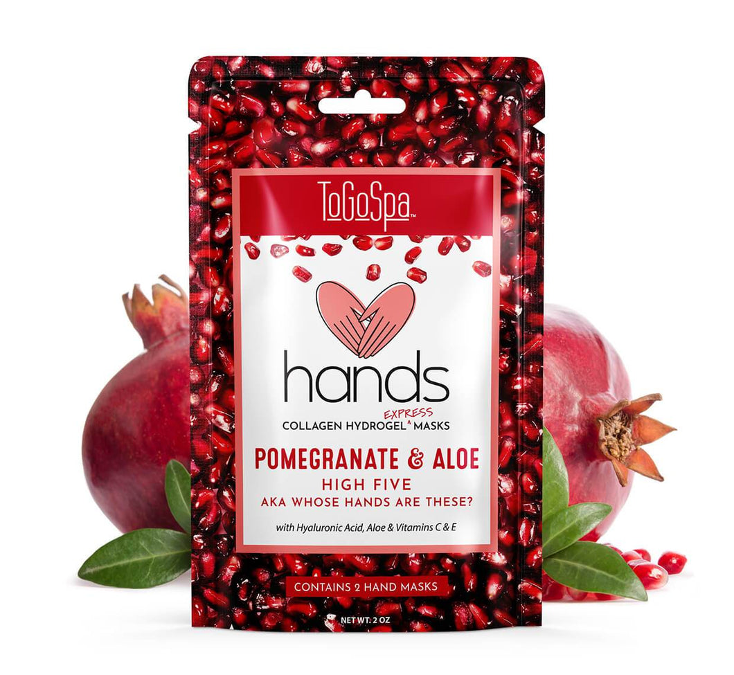 Pomegranate + Aloe HANDS AKA Whose Hands Are These?