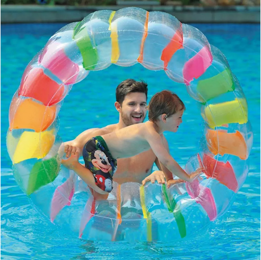 Giant Inflatable Rolling Wheel