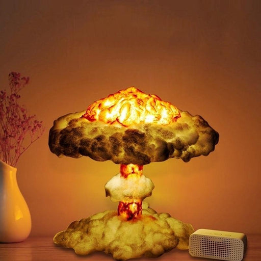 3D Cloud Explosion Lamp