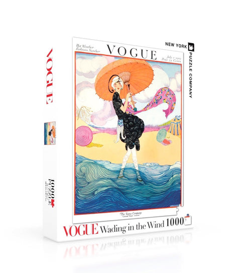 Vogue 1000 pc. Jigsaw Puzzle - Wading in the Wind