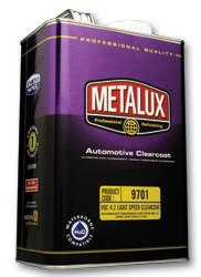 METALUX 9701 LIGHT-SPEED 4.2 VOC CLEAR, QT