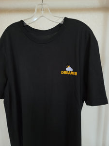Black Dreamer Logo T-Shirt on hanger