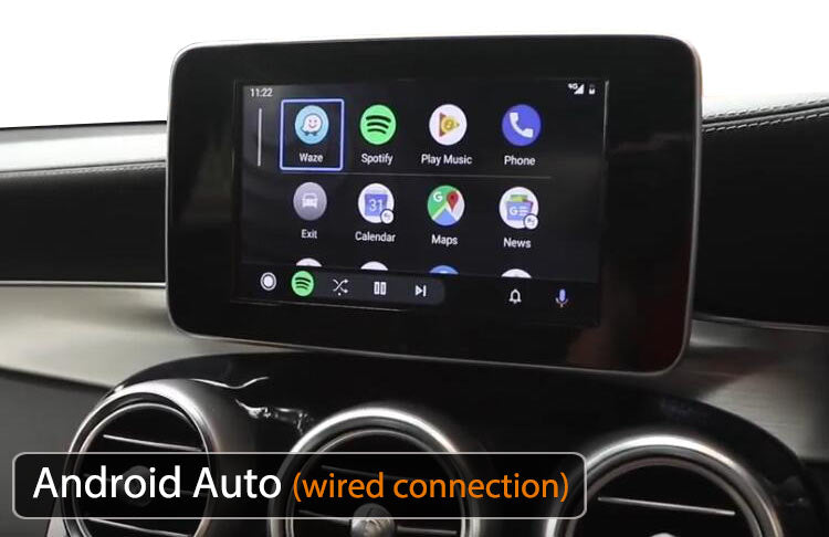 Mercedes Benz Android Auto function