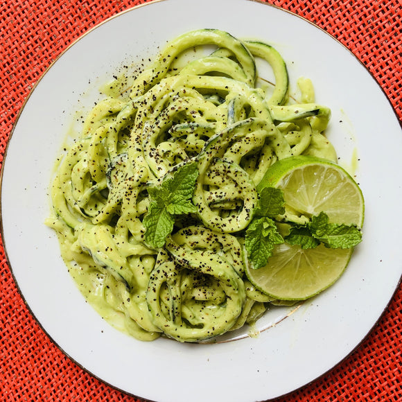 Creamy Garlic Zoodles