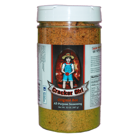 Cracker Girl Original Hot Seasoning 35 Ounce