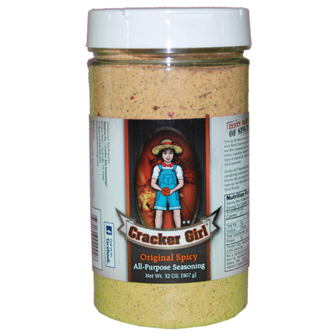Cracker Girl Original Spicy Seasoning 32 Ounce