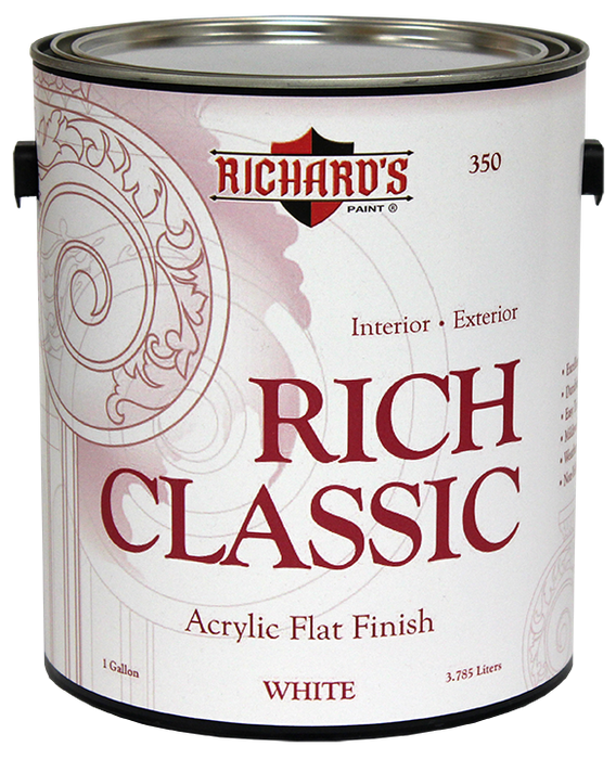 Richard's® Interior Paint; Richard's® Exterior Paint