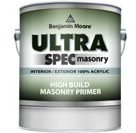 Benjamin Moore® Ultra Spec® Exterior High Build Masonry Primer
