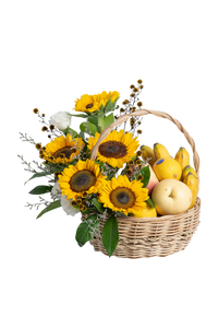 Dawn Flower and Fruit Basket
