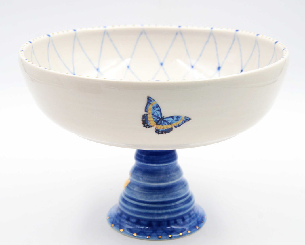 Butterflies & Flowers Fruit Bowl