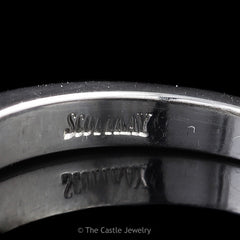 Designer Scott Kay .50cttw Channel Set Round Diamond Wedding Band in Platinum - The Castle Jewelry  - 2