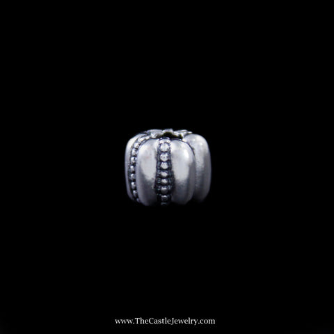 Pandora Crazy Clip Bead Crafted in Sterling Silver