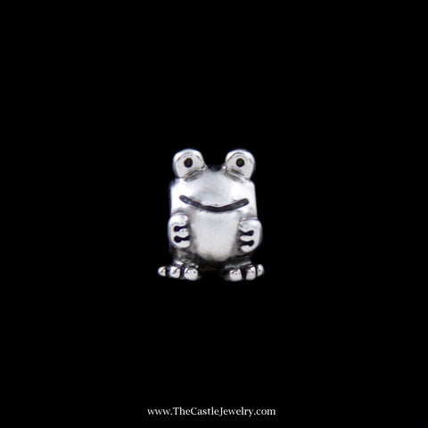 Discontinued Pandora Frog Charm in Sterling Silver