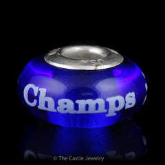 Collegiate University of Kentucky Wildcats Basketball Championship Fenton Art Glass Beads - The Castle Jewelry  - 9