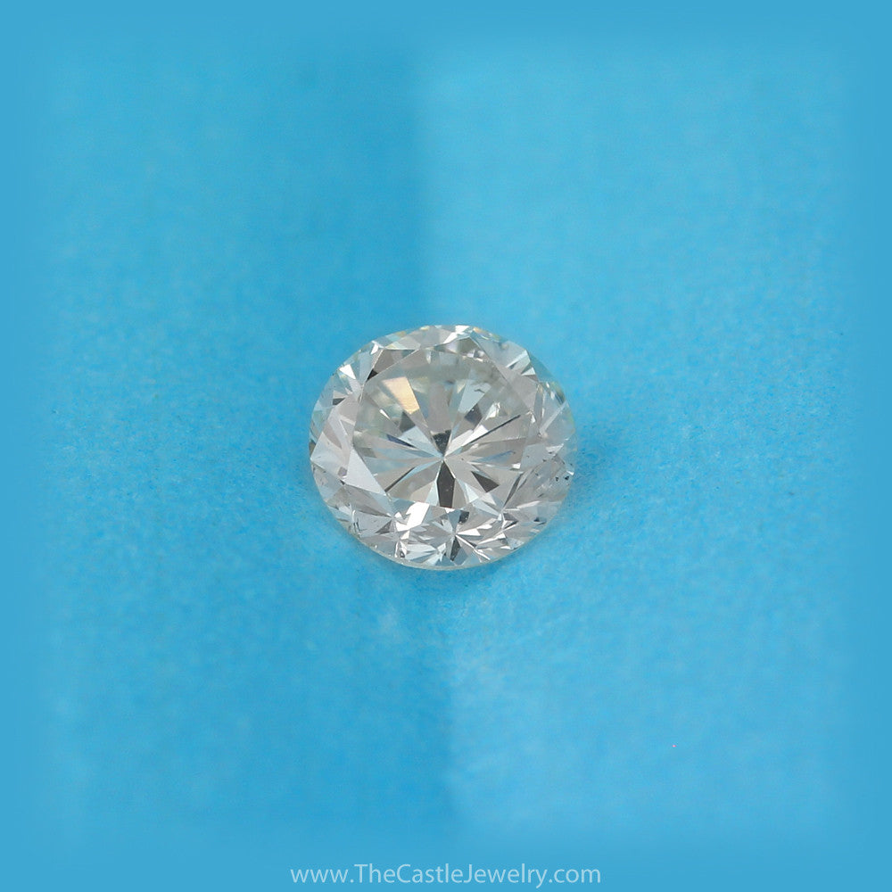 EGL USA Certified .59ct Round Brilliant Cut Diamond Solitaire Loose Diamond - The Castle Jewelry  - 1