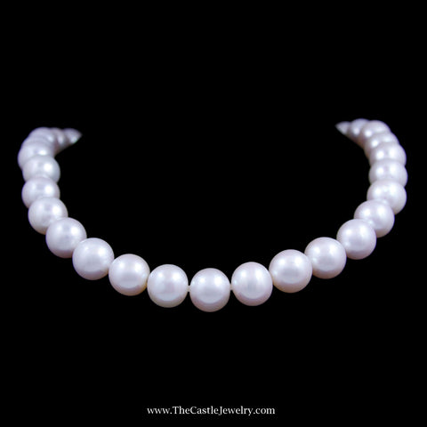 Gorgeous Genuine 12-13 Millimeter South Sea Pearls 20 Inches with 14K Gold Clasp