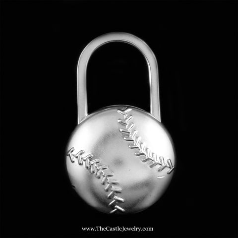 Tiffany & Co. Baseball Key Chain Crafted in Sterling Silver