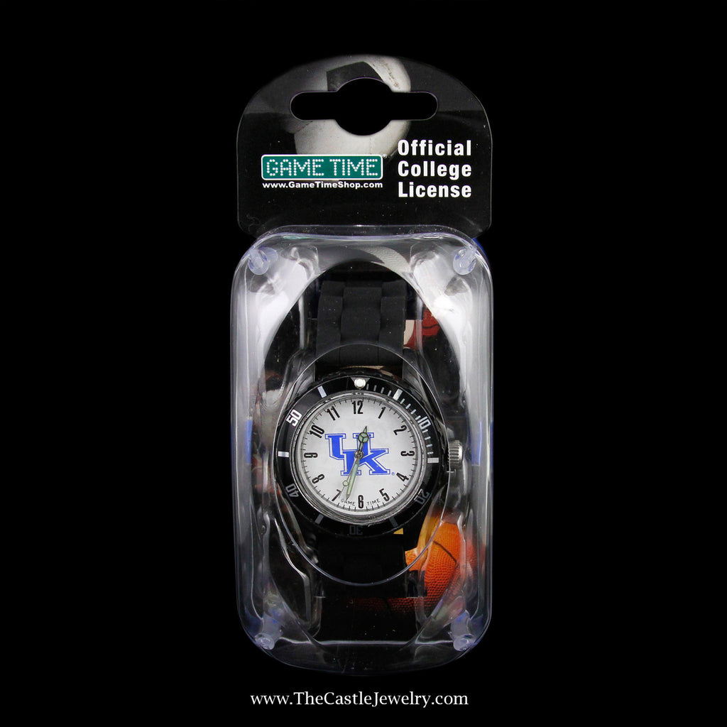 Special! Black Official Collegiate University of Kentucky Watch - The Castle Jewelry