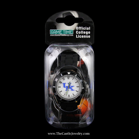 Special! Black Official Collegiate University of Kentucky Watch
