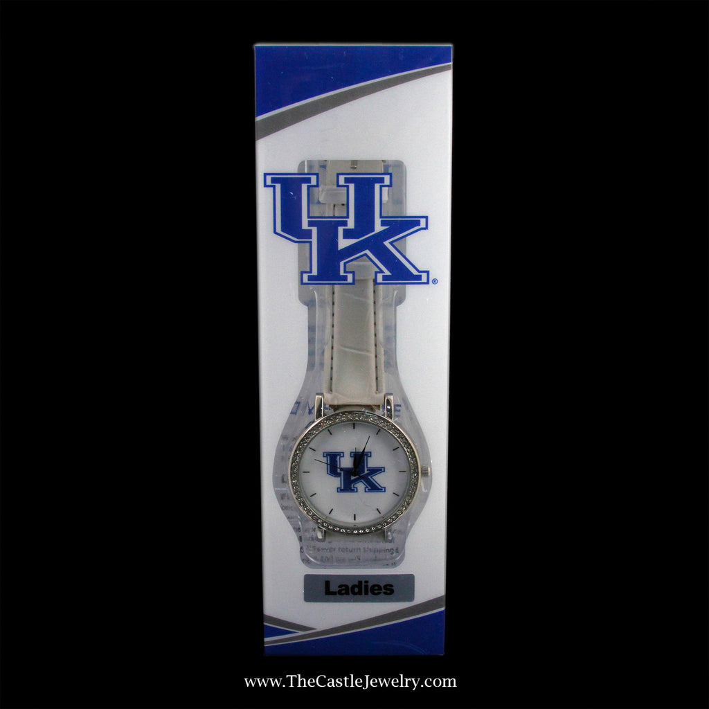 Stocking Stuffer! Ladies' Collegiate University of Kentucky Watch - The Castle Jewelry
