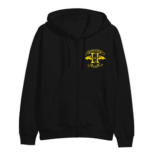 Suicide King Black Zip Up Hoodie