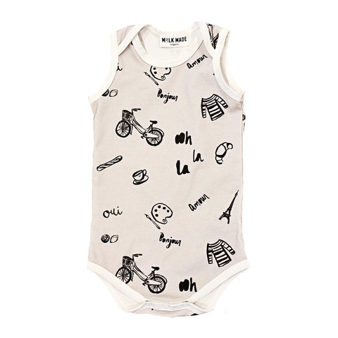 French Toss Onesie (Grey)